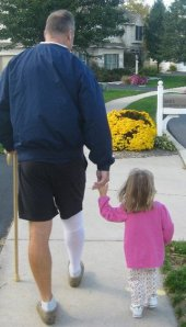 A helping hand from my friend Ava in 2010.