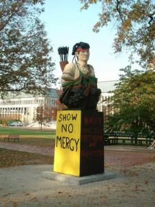 Even if 'Show No Mercy' was painted on that ill-fated Plebe Summer night, I'm not sure I would have heeded the message.