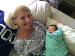 Gracie and Grandma Judy
