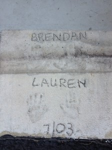 Brendan & Lauren, July 2003
