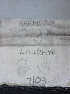 Brendan & Lauren, July 2003