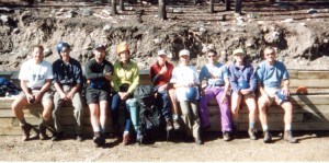Outward Bound Group, Leadville, CO August 2000.