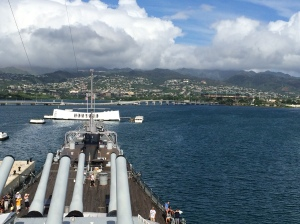 Bridge, USS Missouri (BB-63)