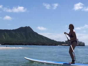 Leigh McB, Standup Paddle Boarder  - Chamber of Commerce Model