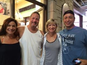 Betsy,Me, Sharon, Danny