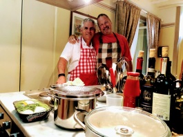 Cooking with Dan in Cortona
