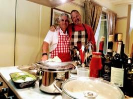 Cooking with Dan in Cortona