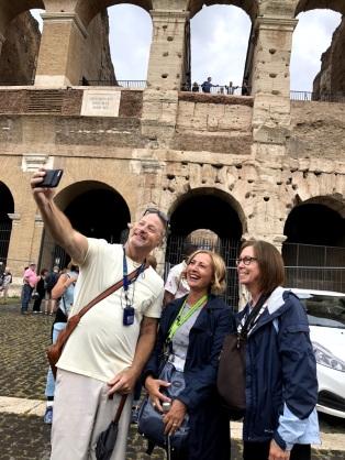 Our final goodbyes selfie captured