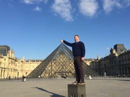 Louvre: Boys will be boys.